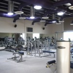 weights and cardio machines