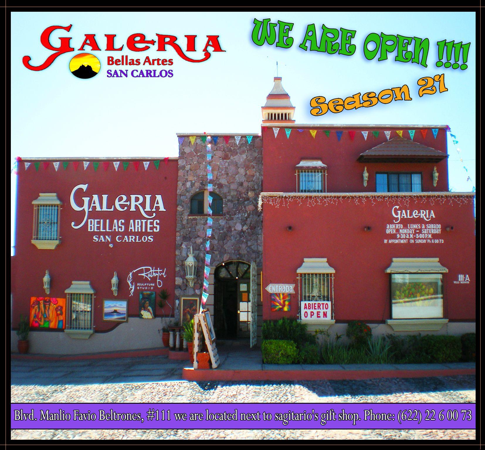 Galeria bellas artes san carlos for Sanborns bellas artes