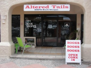 SBPA altered tails book shoppe