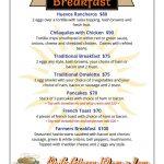 HammerHeads breakfast menu 2016 (1)