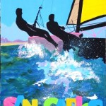 Poster art sailing new