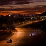 lights on hwy in san carlos