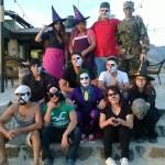 Sunset team Halloween