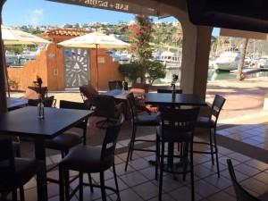 shots patio at the marina