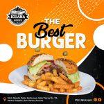 Mr. Iguana burger