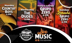 Mr. Iguana live music