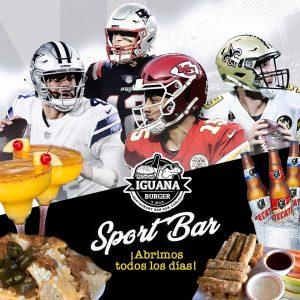 Mr. Iguana sports bar